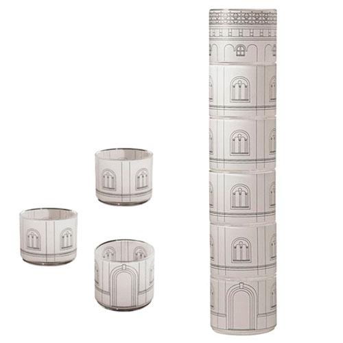 Набор-башня Seletti Palaca Torre из непрозрачных стаканов, фото