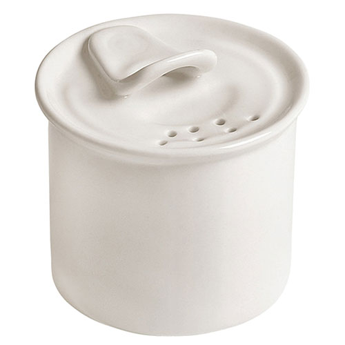 Белая солонка Seletti из фарфора, фото