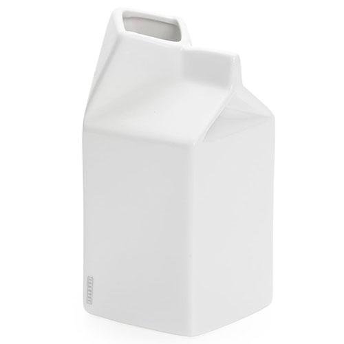 Фарфоровый молочник Seletti белого цвета, фото