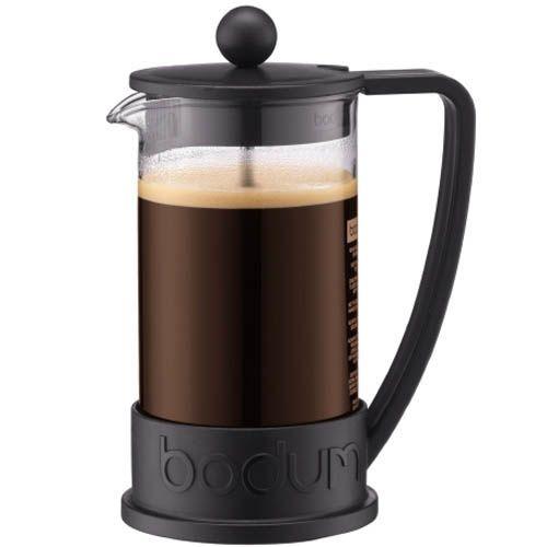 Кофейник Bodum Brazi френч-пресс черный 0.35л, фото
