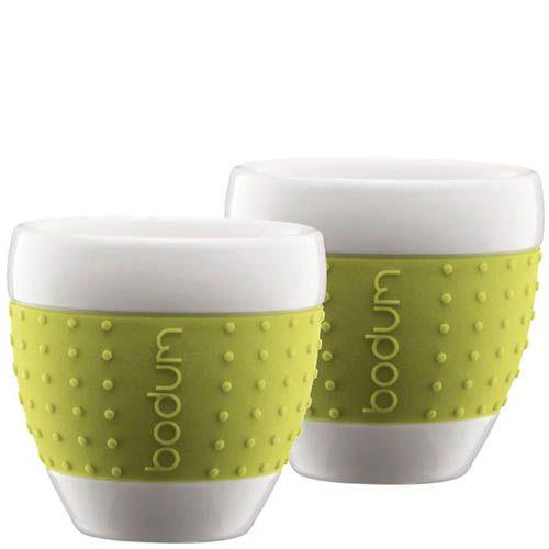 Набор из двух стаканов 0.25 л Bodum Pavina зеленый, фото