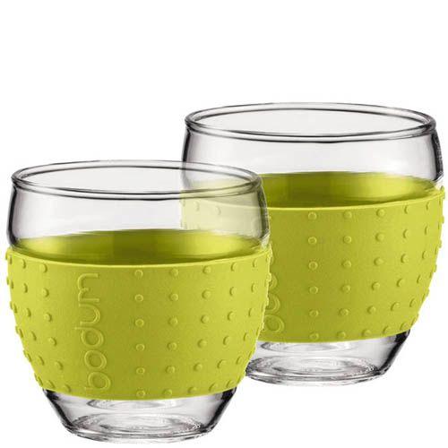 Набор из двух стаканов 0.35 л Bodum Pavina зеленый, фото