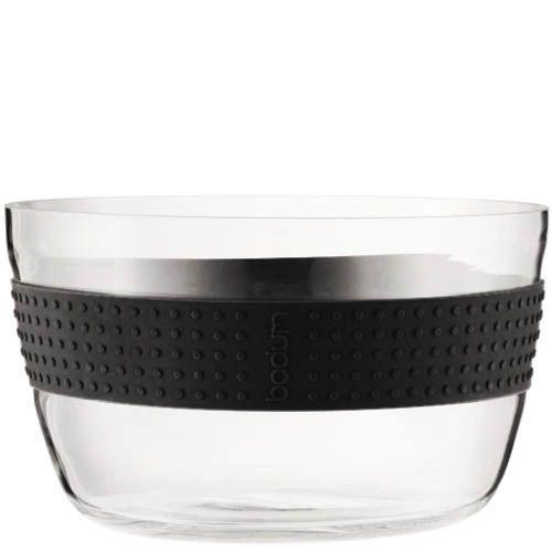 Салатник Bodum Pavina с черной оконтовкой, фото
