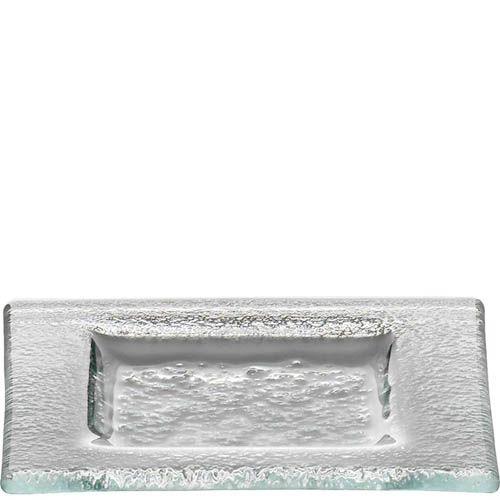 Тарелка Schott Zwiesel Soho прозрачная из прочного хрустального стекла квадратная 14 см, фото