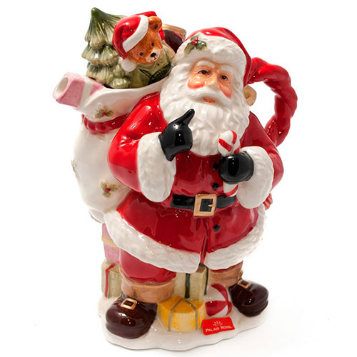 Заварник в виде Санта Клауса Fitz and Floyd, фото