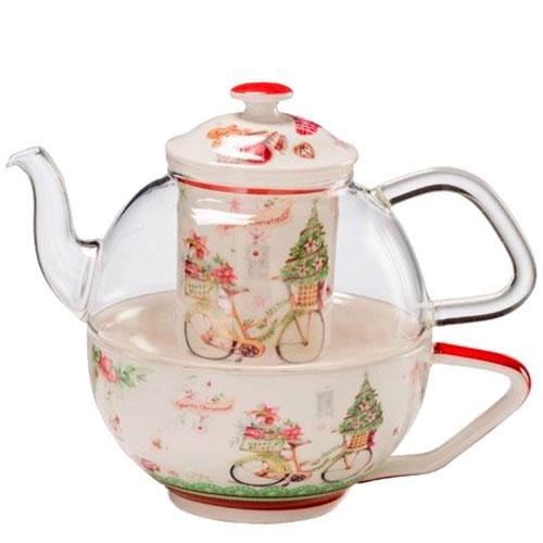 Заварник и чашка для чая Palais Royal Теплые поздравления, фото