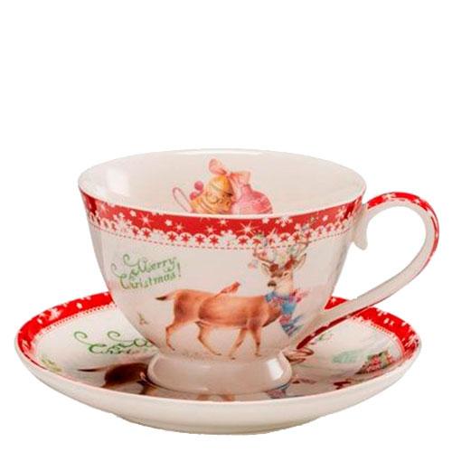 Чашка для кофе с блюдцем Palais Royal Теплые поздравления, фото