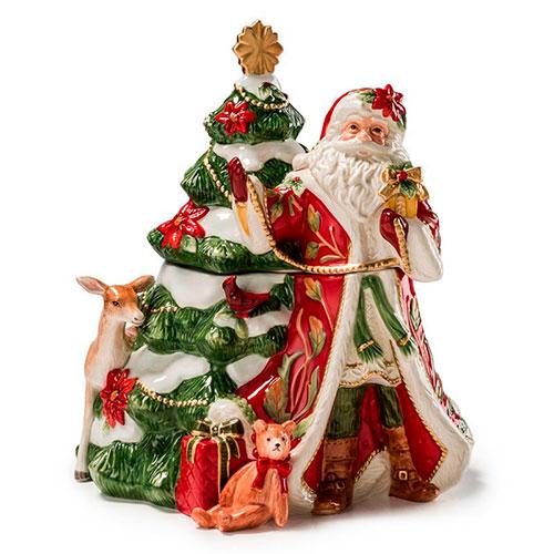 Бисквитник Fitz and Floyd Рождественские эмоции, фото