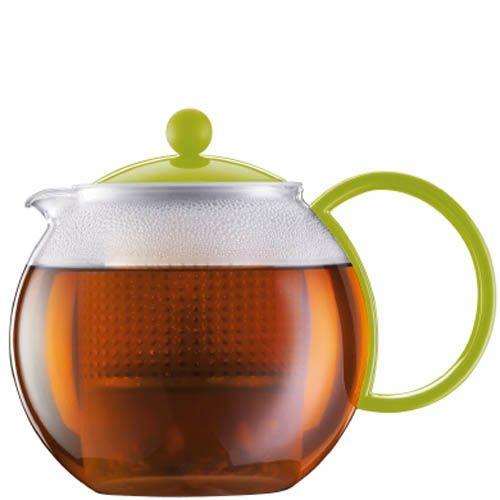 Чайник Bodum Assam зеленый 1 л, фото