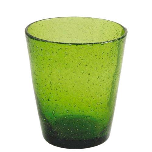 Стакан для воды Villa d'Este зеленого цвета, фото