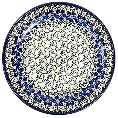 Тарелка Ceramika Artystyczna Фиалки большая, фото