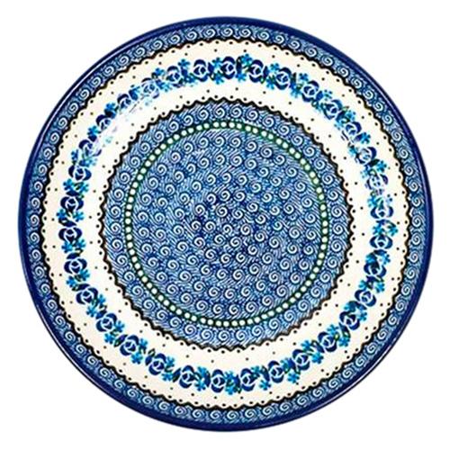 Тарелка Ceramika Artystyczna Озерная свежесть большая, фото