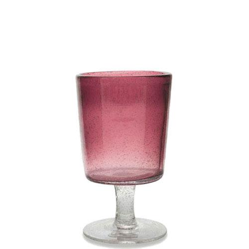 Бокал для вина Villa d'Este фиолетового цвета, фото