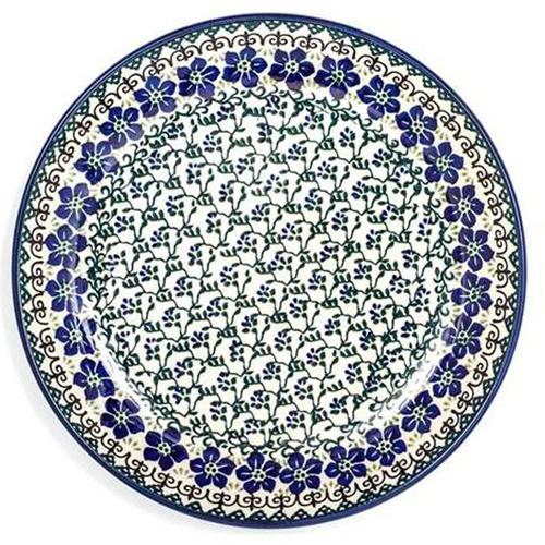 Тарелка обеденная Ceramika Artystyczna Фиалки, фото