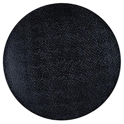 Набор десертных тарелок Bastide черного цвета, фото