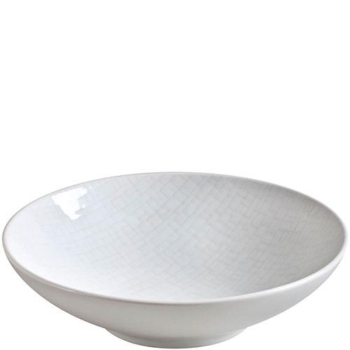 Набор тарелок для супа Bastide Cotton белого цвета, фото