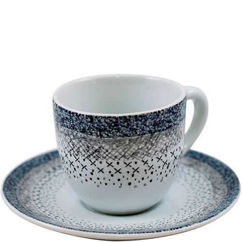 Набор чашек с блюдцем для кофе Bastide Stella 6шт, фото