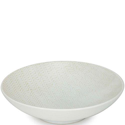 Набор тарелок для супа Bastide Chevron, фото