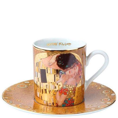 Чашка с блюдцем Goebel из фарфора Поцелуй, фото