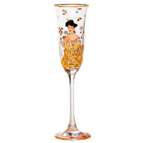 Бокал для шампанского Goebel Adele Bloch-Bauer, фото