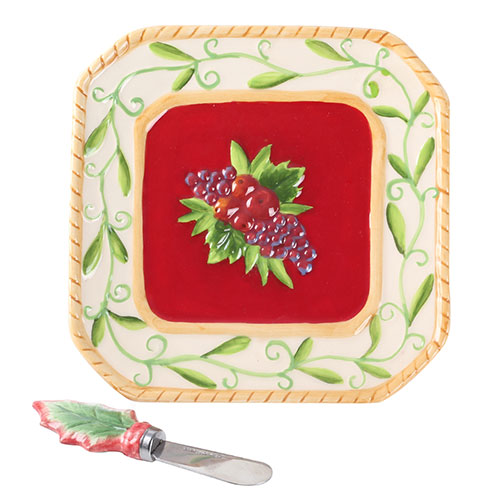 Тарелка для сыра Palais Royal Зимняя ягода, фото