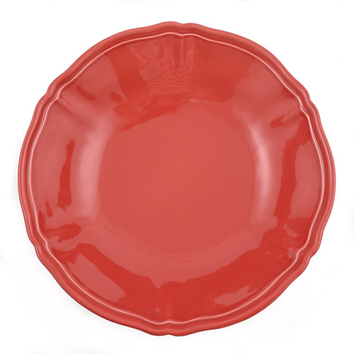 Салатник Villa Grazia Яркое лето красного цвета 33см, фото