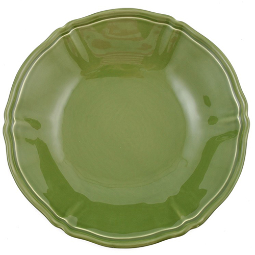 Зеленый салатник Villa Grazia Яркое лето 33см, фото