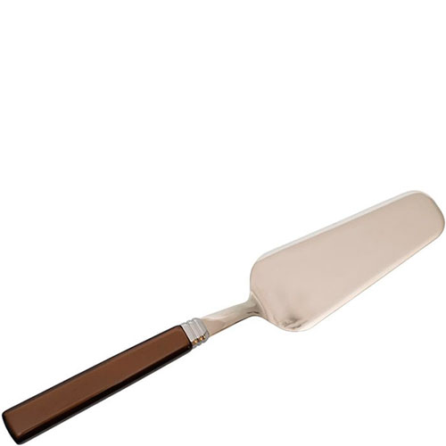 Лопатка для сладкого Rivadossi Zara с коричневой ручкой, фото