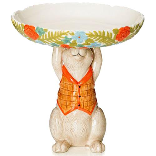 Фруктовница из керамики Palais Royal Кролик, фото