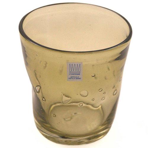 Набор из 6 стаканов для вина Comtesse Milano Samoa зеленого цвета, фото