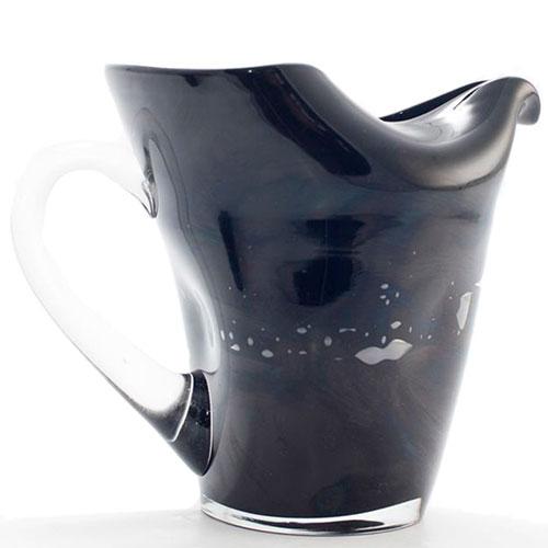 Стеклянный кувшин Comtesse Milano Samoa черного цвета, фото
