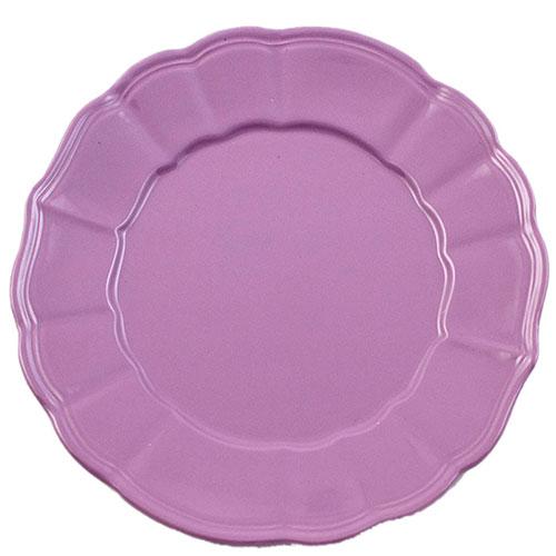 Набор из 6 обеденных тарелок Comtesse Milano Loto фиолетового цвета, фото