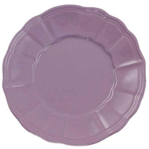 Десертная тарелка Comtesse Milano Loto фиолетового цвета, фото