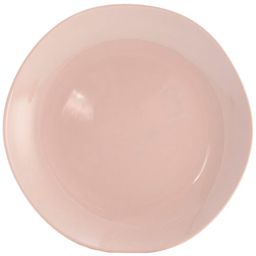 Набор из 6 обеденных тарелок Comtesse Milano Ritmo из бежевой керамики, фото