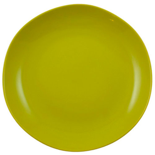 Набор керамических тарелок Comtesse Milano Ritmo на 6 персон зеленого цвета, фото