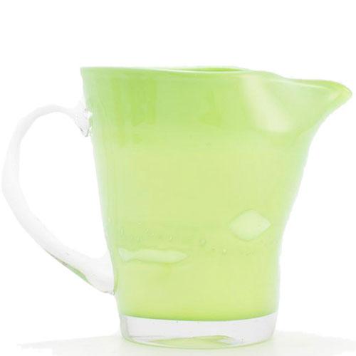 Стеклянный кувшин Comtesse Milano Samoa зеленого цвета, фото