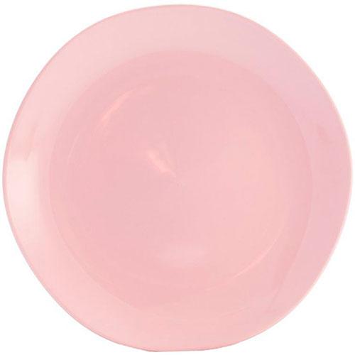 Обеденная тарелка Comtesse Milano Ritmo розового цвета, фото