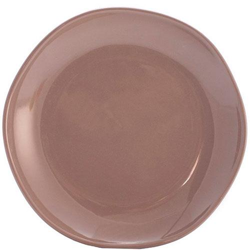 Десертные тарелки Comtesse Milano Ritmo коричнево-серого цвета 6шт, фото