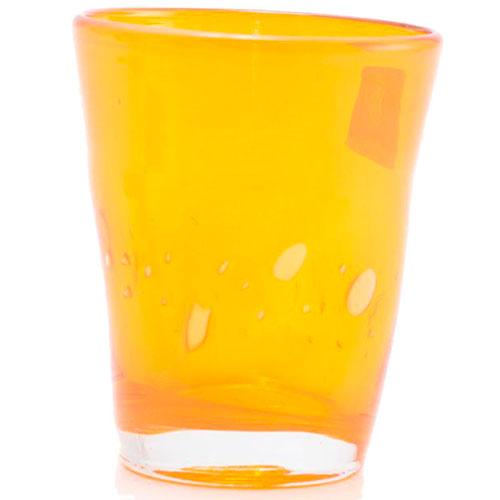 Набор из 6 стаканов Comtesse Milano Samoa оранжевого цвета, фото