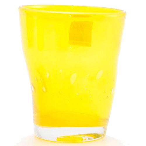 Набор стеклянных стаканов Comtesse Milano Samoa желтого цвета, фото