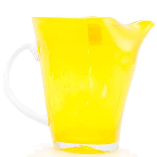 Желтый стеклянный кувшин Comtesse Milano Samoa, фото