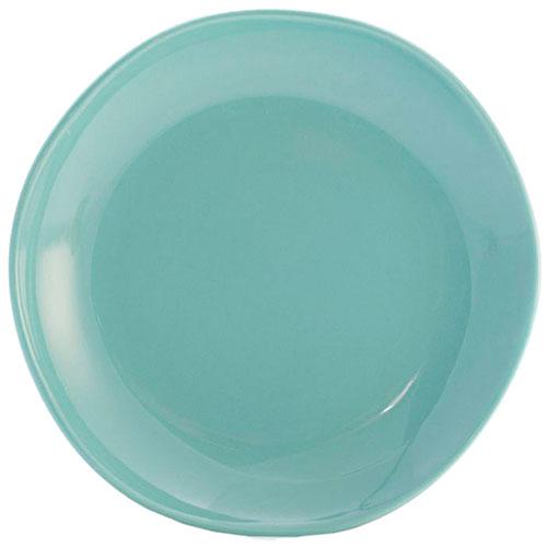 Десертная тарелка Comtesse Milano Ritmo бирюзового цвета, фото