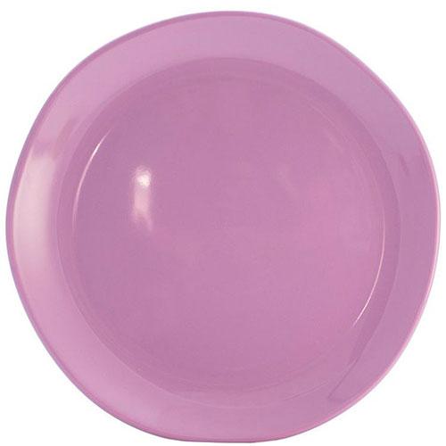 Круглое блюдо Comtesse Milano Ritmo цвета лаванды, фото