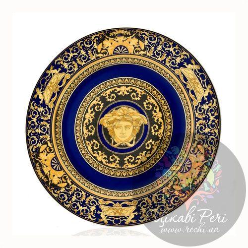Medusa Blue: тарелка настенная, фото