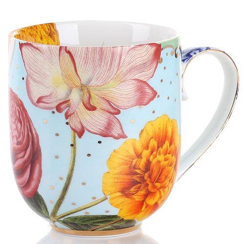 Кружка Pip Studio Royal с цветочным принтом 325 мл, фото