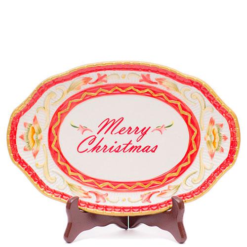 Блюдо Fitz and Floyd Merry Christmas, фото