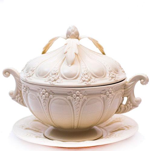 Супница с блюдом Palais Royal Crema, фото
