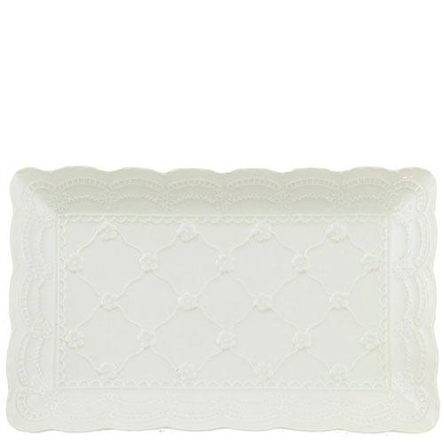 Маленькое блюдо Palais Royal Кружево прямоугольной формы, фото
