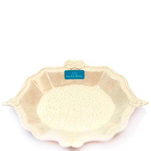 Тарелка Palais Royal Crema с фигурным бортом, фото