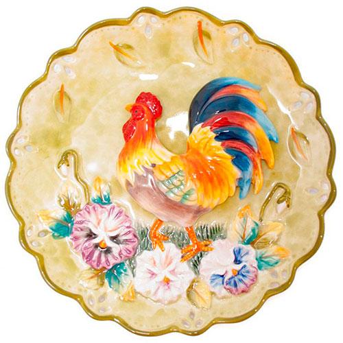 Декоративная тарелка Palais Royal Петушок, фото